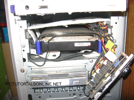 Harddisk mounted
